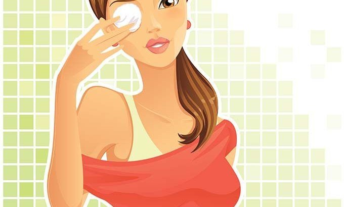 Правилното почистване с козметика