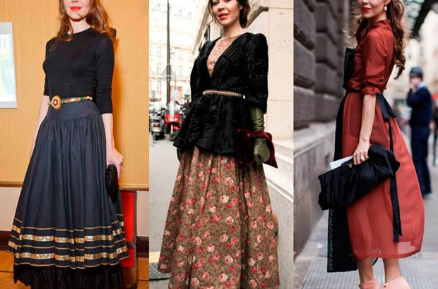 Винтидж стилове облекла